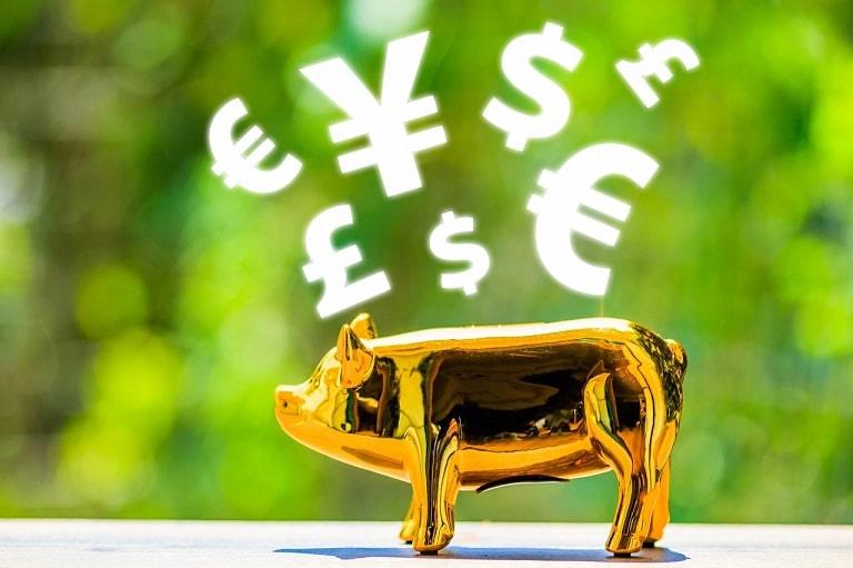 FXで利益を出すイメージ